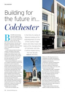 Building for the future in... Colchester - Essex Life
