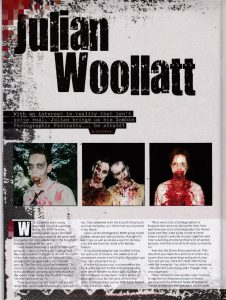 Julian Woollatt - from Level 4 Magazine Nov 2012