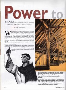 Power to the people - The Essex Magazine - June 2001