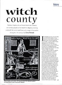 Witch county - The Essex Magazine - Dec 2000